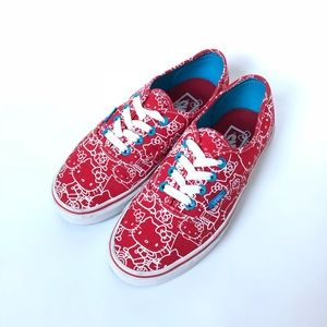 Vans Authentic Hello Kitty Red